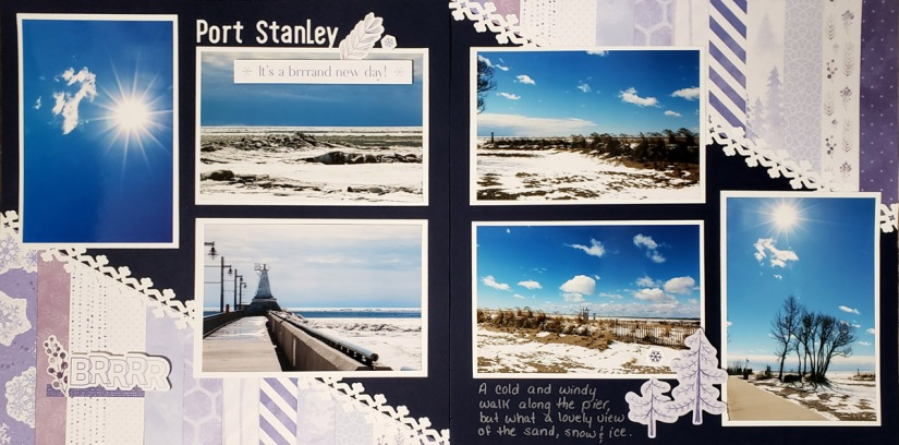 McEwen Photos2Albums Strips and Triangles Layout