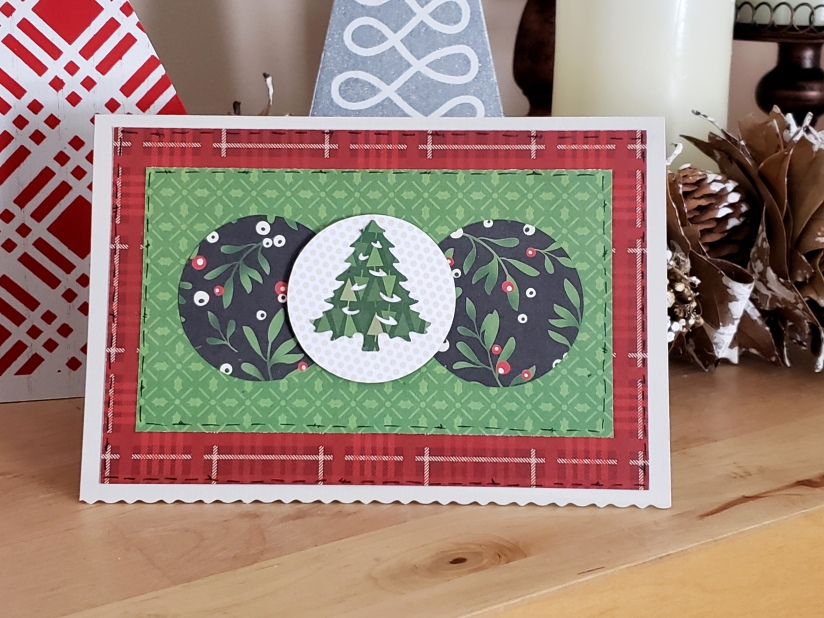 Creative Memories Merry Little Christmas, Card, by Tammy McEwen