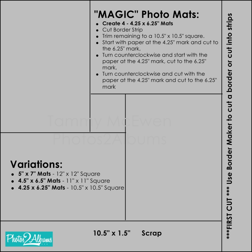 Tammy McEwen - Magic Mats Cut Guide