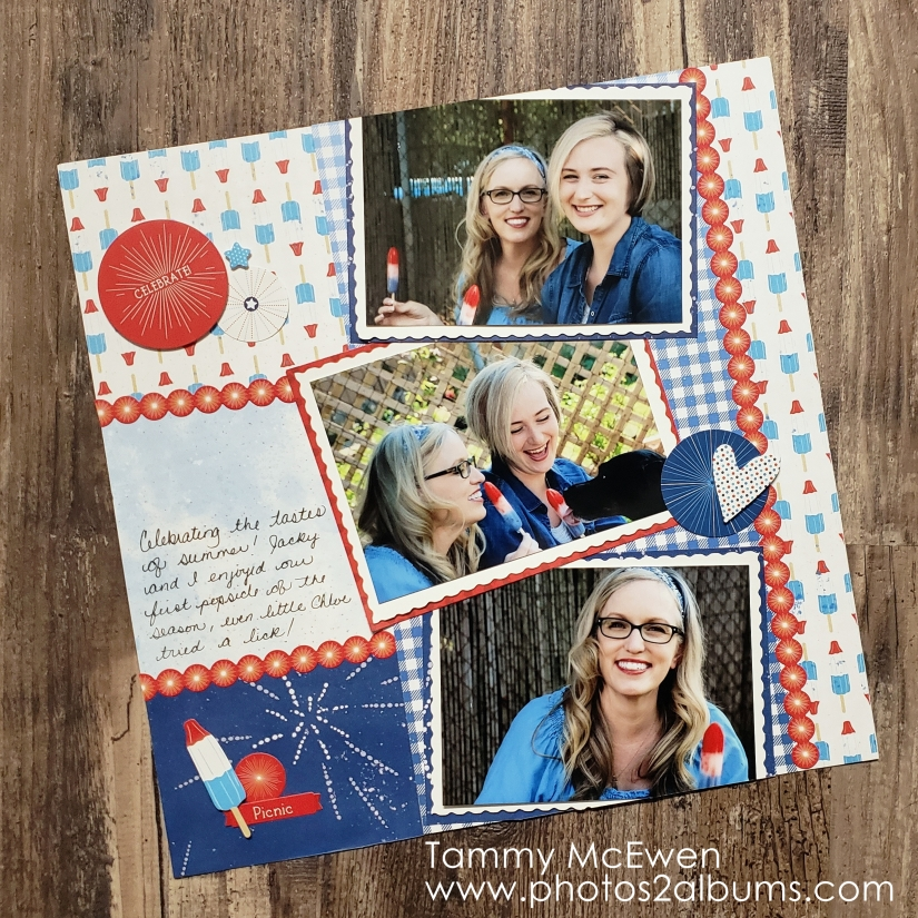 Festive Summer Treats - Photos2Albums - Tammy McEwen