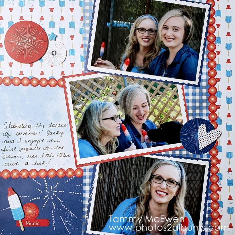 Festive Fourth - Photos2Albums - Tammy McEwen